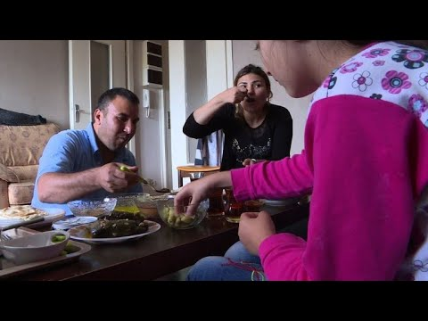 Kurdish refugees from Syria build new life in France