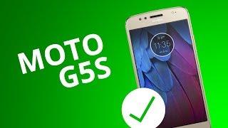 5 motivos para COMPRAR o Moto G5S