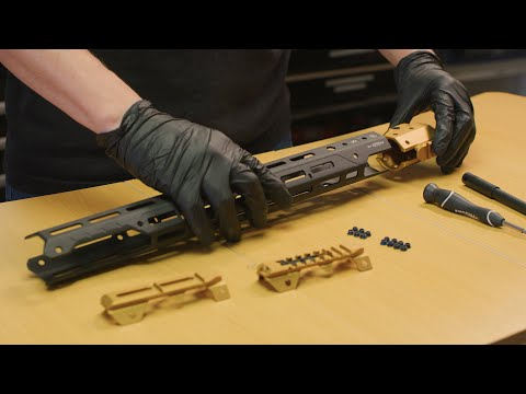 How To Assemble The GRIDLOK Handguard