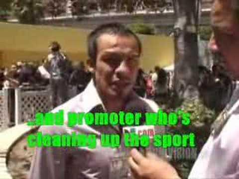 Interview with Juan Manuel Marquez (entrevista)