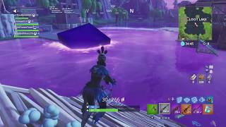 FORTNITE CUBE EVENT AS IT HAPPENED - LOOT LAKE IS BOUNCY?!