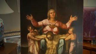 Does New York man own missing Michelangelo artwork?