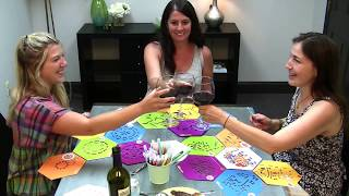 ColorFoldz™ Stencil Art Is Great For Adult Paint and Sip Parties!