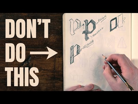 How to Make Logo in Photoshop - Photoshop Tutorial for Beginners - Basic Idea.