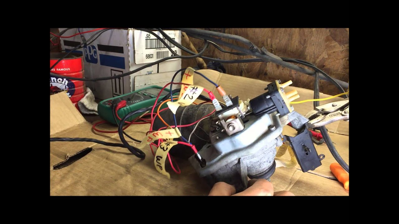 how to test GM wiper motor wiring and washer pump IMPALA