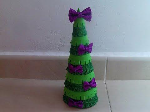 nuevo arbol de navidad de goma eva