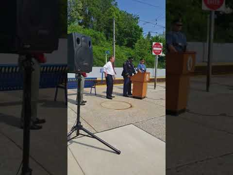 Steve Schuh's press conference for the Light Rail
