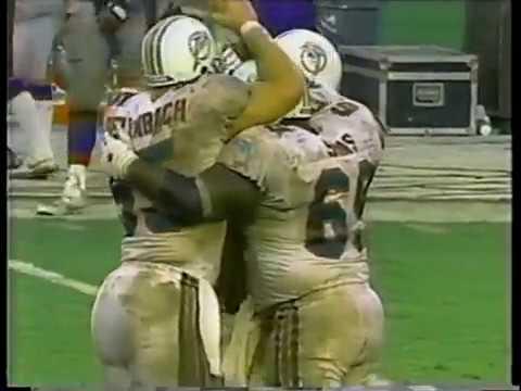 1994 Wk 01 Zimpfer Mandich Call of Game Winning TD vs Patriots
