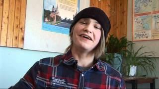 Интервью в школе. 11 класс. Северодвинск 2011.