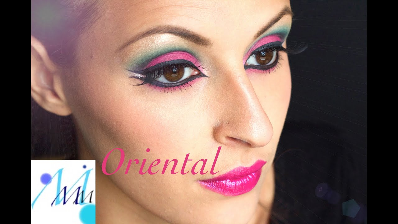 Maquillage Soir E Maquillage Oriental Youtube