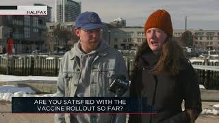 Are you satisfied with the vaccine rollout so far? | Outburst