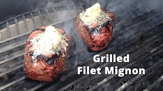 Grilled Filet Mignon on the Big Green Egg | Filet Mignon Steak Recipe from Malcom Reed HowToBBQRight