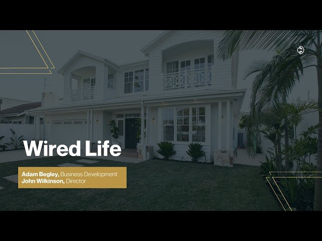 Connected Design Insider Talk: Wired Life