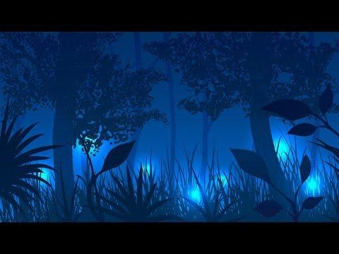 Relaxing Dark Harp Music - Elf Shadows   Soothing, Beautiful, Celtic ★49