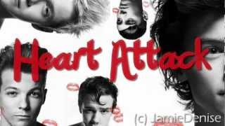 Repeat youtube video Heart Attack - One Direction (Lyric Video)