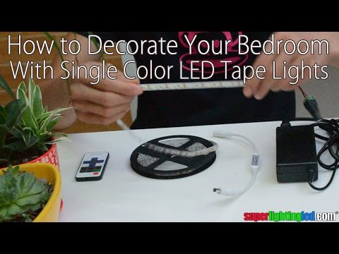 How To Decorate Your Bedroom With Single Color Flexible Led Strip Lights Youtube,Keeping Up With The Joneses Movie