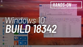 Windows 10 build 18342, May 2019 Update: File Explorer, WSL, Sandbox, Settings changes