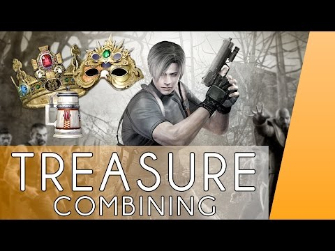 Resident Evil 4- Combining All Treasures