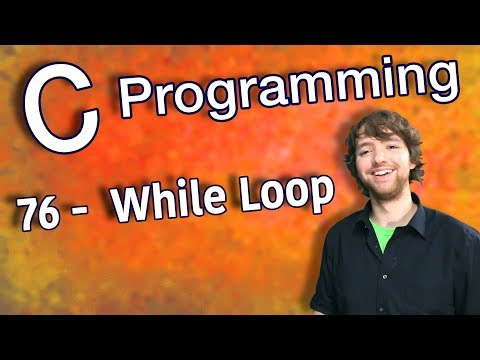 C Programming Tutorial 76 -  While Loop thumbnail