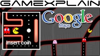 Play Ms. Pac-Man in Google Maps Now! (April Fools Day 2017) Free HD Video