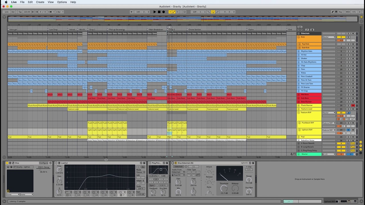 Audiotent Gravity - Learn How To Make Melodic Techno