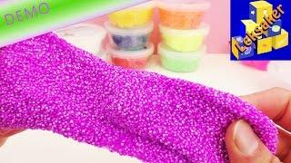 Foam Clay moln modellera – 10 burkar i fina färger!   Unboxing och demo