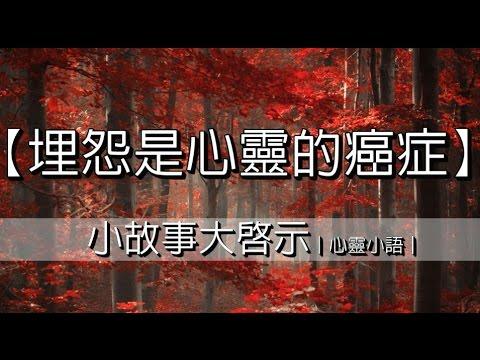 【埋怨是心靈的癌癥】小故事大啟示|心靈小語| - YouTube