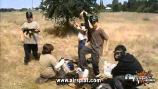 AirSplat Sponsored Games: Red Bluff Youth Airsoft Group Play, June 2011