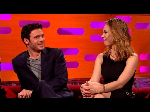Richard Madden's revealing costume  The Graham Norton : Episode 5  BBC