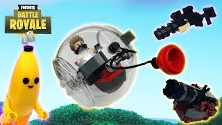 Lego Fortnite - (Baller, Peely, Canon, Legendary Infantry Rifle)