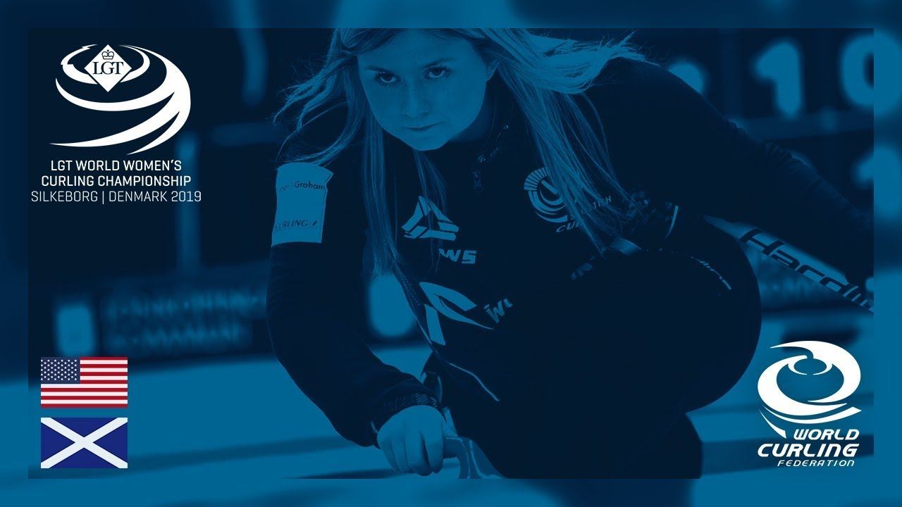United States v Scotland - round robin - LGT World Women's Curling  Championships 2019