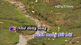 Bắc Hà Yêu Thương - Trọng Tấn ft Anh Thơ [Karaoke]