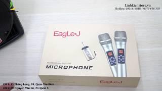 Micro không dây cao cấp SIÊU HIỆN ĐẠI - Micro EagLeJ M-09 (Micro hiện đại nhất hệ mặt trời)