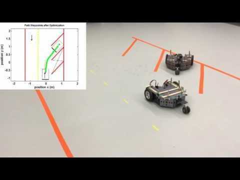 Experiments on Car's Automatic Parking using RRT Algorithm and RS Path Connections