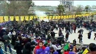 Viranşehir'de olaylı gösteri