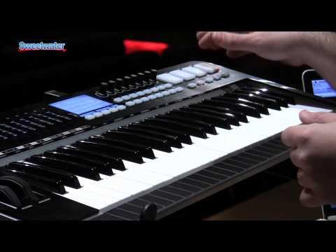 Samson Graphite 49 Keyboard Controller Demo - Sweetwater Sound