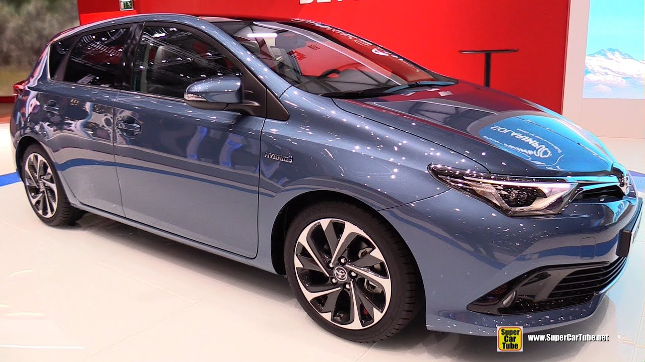 2015 toyota auris hybrid exterior and interior walkaround 2015 geneva motor show youtube. Black Bedroom Furniture Sets. Home Design Ideas