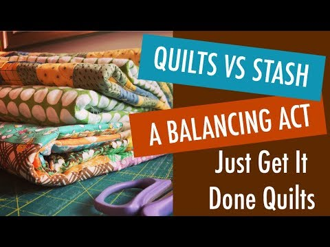 Quilts vs Stash