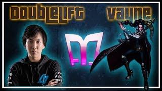Doublelift - Vayne/Thresh vs Lucian/Morgana  (Challenger)