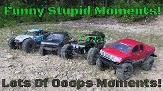 Scale RC Trail Trucks & Funny Fail Moments!