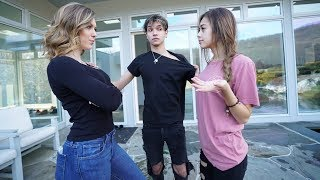My GIRLFRIEND MEETS my Ex GIRLFRIEND! (bad idea)