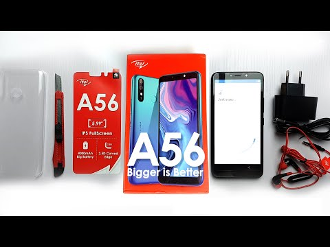 Itel A56 unboxing - Specifications, Initial Review and Price
