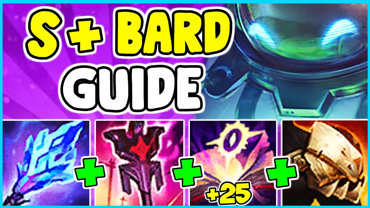 HOW TO PLAY BARD SUPPORT & SOLO CARRY IN SEASON 11 | Bard Guide S11 - League Of Legends