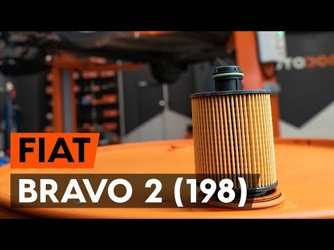 How To Replaceoil Filter And Engine Oilon FIAT BRAVO 2 (198) [TUTORIAL AUTODOC]