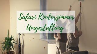 Safari Kinderzimmer renovieren Teil 1 Ikea Haul  Babyzimmer, Schwanger  Tapezieren  Die Siwuchins