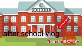 After school vlog