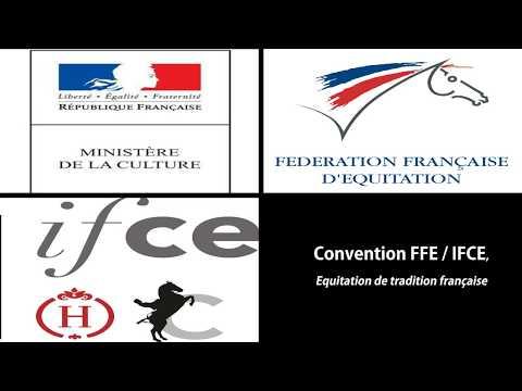 Signature de la convention FFE / IFCE «Equitation de tradition française»