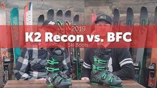 2019 K2 Recon vs BFC Ski Boots