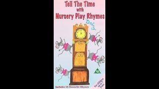 Tell the Time with Nursery Play Rhymes 1996 UK VHS