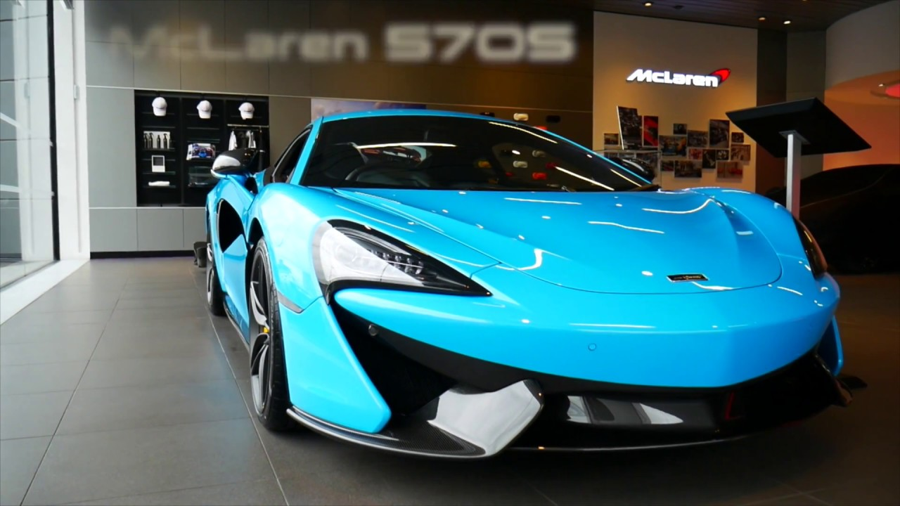 Mclaren For Sale >> McLaren 570S in Fistral Blue - YouTube